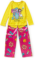 Komar Kids Little/Big Girls 4-16 Sleepover Pajama Top & Pants Set