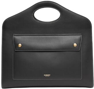 Burberry Medium Leather Pocket Bag