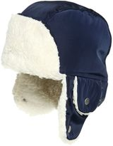 Armani Junior Nylon & Faux Shearling Aviator Hat