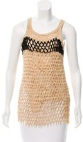 Reed Krakoff Embroidered Sleeveless Top