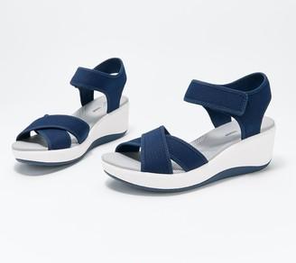 Clarks CLOUDSTEPPERS by Wedge Sport Sandals - Step Cali Skye