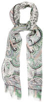 Etro Sheer Silk Scarf