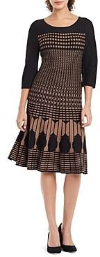 Nic+Zoe Nic + Zoe Ellipse Printed Dress