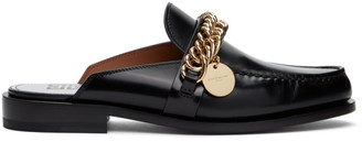Givenchy Black Chain Slip-On Loafers