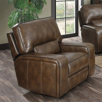 Red Barrel Studio Rowlett Leather Power Recliner Chair