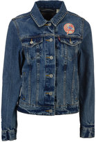 Levi's Women's New York Yankees Denim Trucker Jacket
