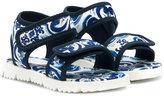Dolce & Gabbana printed sandals