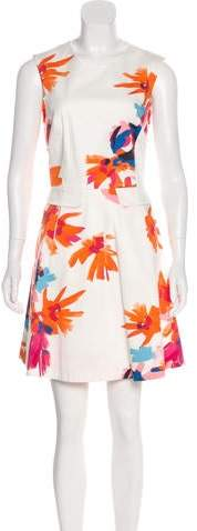 Draper James Floral Print Mini Dress