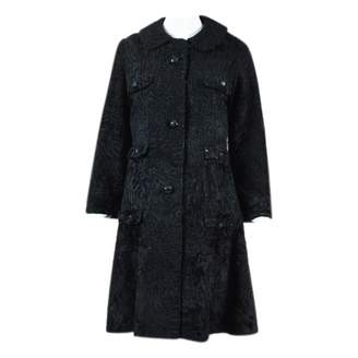 Christian Dior Black Fur Coats