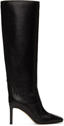 Jimmy Choo Black Mahesa Tall Boots