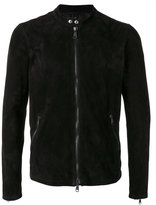 Giorgio Brato round neck biker jacket - men - Leather - 52