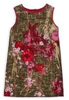 Dolce & Gabbana Toddler's, Little Girl's & Girl's Floral Roundneck Dress