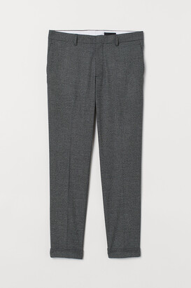 H&M Skinny Fit Suit Pants