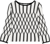 Tomas Maier A Bomb Stretch-knit Top - White