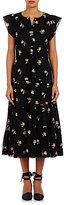 Ulla Johnson Women's Tatyana Midi-Dress-Black