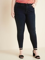 Old Navy High-Waisted Secret-Slim Pockets + Waistband Plus-Size Rockstar Super Skinny Jeans