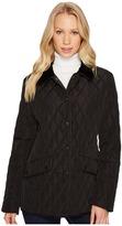 Lauren Ralph Lauren Velvet Trim Heritage Blazer Quilt Women's Jacket