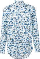 Eleventy floral print shirt - men - Cotton - 39