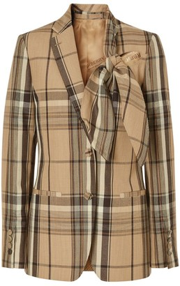 Burberry Wool Check Jacket