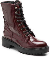 Coolway Draco Combat Boot -Burgundy Patent Leather - Women's