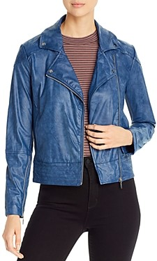 Lysse Sienna Faux-Leather Moto Jacket