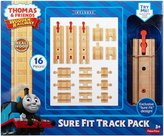 Fisher-Price Thomas & Friends Wooden Railway Sure-Fit Track Pack Train Set