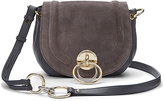 Diane von Furstenberg Love Power Suede Saddle Bag
