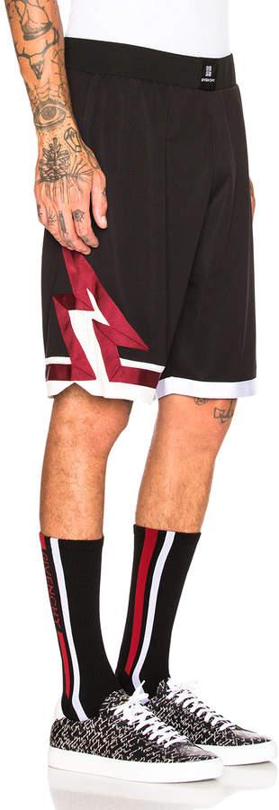 Givenchy Lightning Shorts