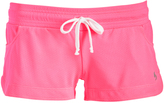 Soffe Neon Pink Pocket Low-Rise Shorts