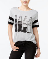 Hybrid Juniors' Coca-Cola Graphic T-Shirt
