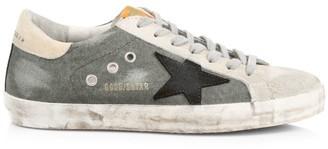 Golden Goose Men's Superstar Canvas & Leather Sneakers