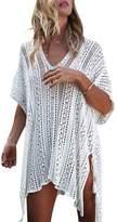 Elfremore Womens Knitted Crochet Tassel Open Side Swimsuit Beach Cover Up