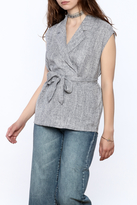FRNCH Classic Hustle Blouse