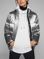 Athleta Silver Jacket