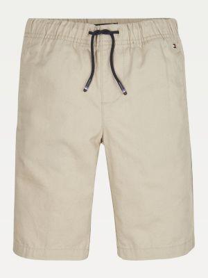 Tommy Hilfiger Linen Cotton Blend Shorts
