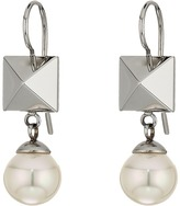 Majorica Why Not? Silver Frenchwire Earrings
