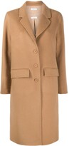 Thumbnail for your product : P.A.R.O.S.H. Single Breasted Wool Coat