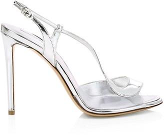 Nicholas Kirkwood S Pump Metallic Leather & PVC Sandals