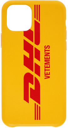 Vetements Yellow DHL Express Edition iPhone 11 Pro Max Case