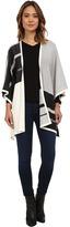 NYDJ Color Block Blanket Sweater