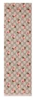 Gucci Kid's Flower-Print Wool Scarf