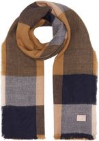 Joules Oblong checked scarf