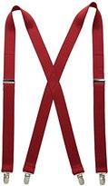 Levi's Men's 1 1/8 Inch Solid Suspenders