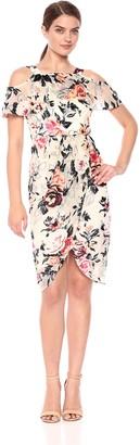 Jax Women's Floral Cold Shoulder Dress