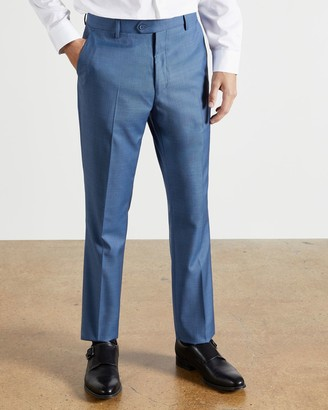 Ted Baker Debonair Sharkskin Wool Trousers