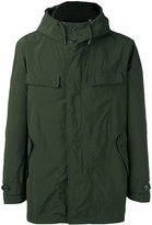 Aspesi flap pockets hooded jacket - men - Cotton/Polyamide/Polyester - XL