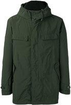 Aspesi flap pockets hooded jacket