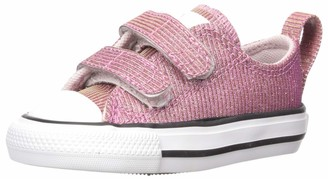 Converse Baby-Girl's Chuck Taylor 2V Space Star Sneaker