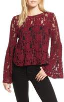 Cupcakes And Cashmere Women's Florent Crochet Top