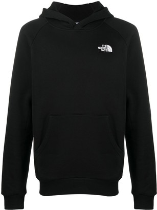 The North Face Raglan Redbox cotton hoodie